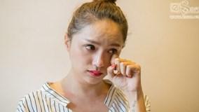 Hương Giang Idol giàn giụa nước mắt xin lỗi nghệ sĩ Trung Dân