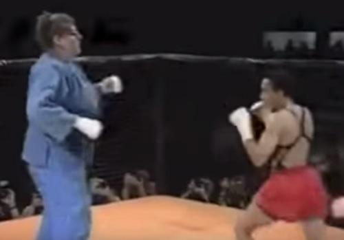 Võ sĩ Judo hạ đo ván võ sĩ MMA