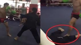 Võ sĩ quyền Anh hạ knock-out cao thủ phái Võ Đang trong… 7 giây