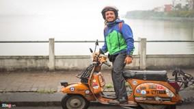 Đi xuyên lục địa từ Italia tới Việt Nam bằng xe máy