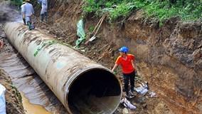 Khởi tố nguyên PCT Hà Nội vì vụ vỡ đường ống nước sông Đà