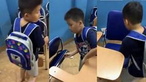 Chỉ một câu nói trong clip dài 19 giây, cậu bé khiến nhiều người nể phục