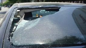 Hàng loạt xe ôtô của người dân bị đập phá trong đêm