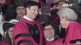 Ông chủ Facebook nhận bằng tốt nghiệp Havard sau 12 năm... bỏ học