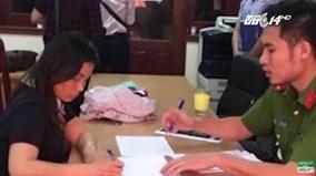Người phụ nữ mạo danh nhà báo, dọa CSGT đến Công an trình diện