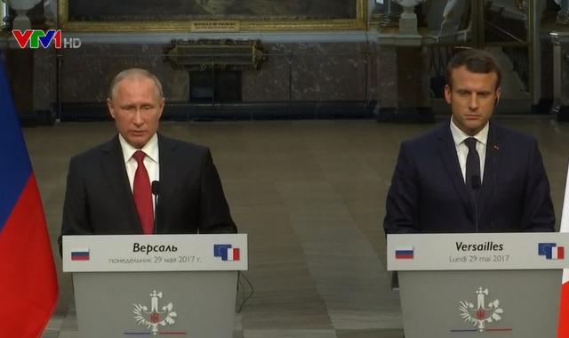 Nga - Pháp ưu tiên hợp tác chống khủng bố - Ảnh 1.