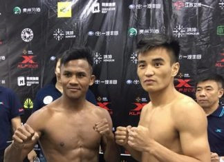 Kunlun Fight: 'Thanh Muay Thai' Buakaw ha dep vo si Trung Quoc lan 2 hinh anh 1