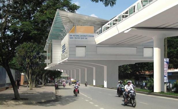 Phoi canh 12 ga tuyen metro dau tien o Ha Noi hinh anh 7