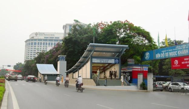 Phoi canh 12 ga tuyen metro dau tien o Ha Noi hinh anh 10