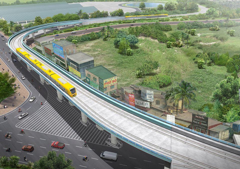Phoi canh 12 ga tuyen metro dau tien o Ha Noi hinh anh 1