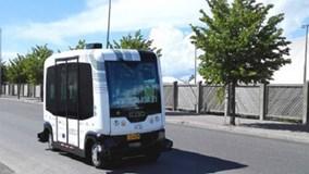 Cận cảnh xe buýt không người lái vận hành ở Phần Lan