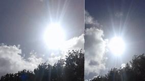 Đám mây hình Đức Mẹ đồng trinh xuất hiện trên bầu trời Ireland