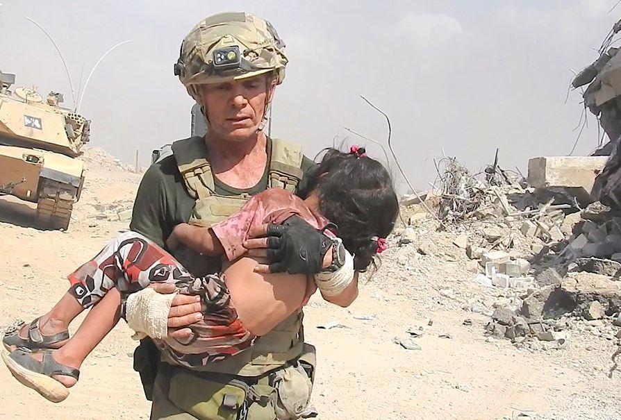 nhân viên cứu trợ, IS, Iraq