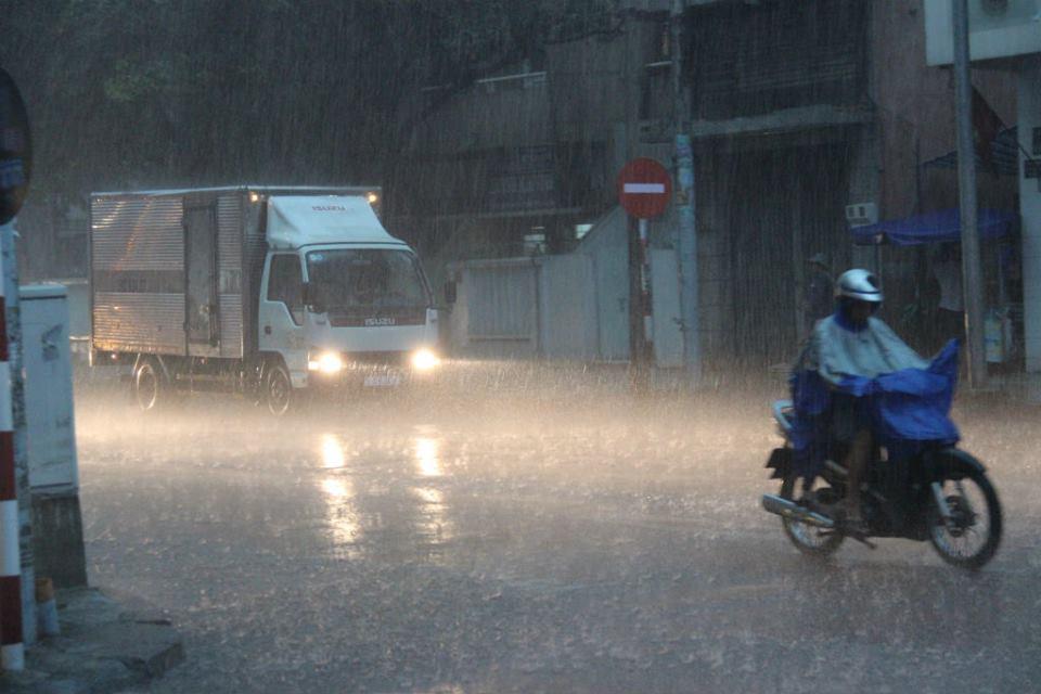 mưa, ngập, Sài Gòn, mưa lớn