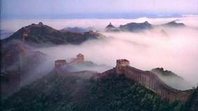 Treo mình trên vách núi cheo leo để tu sửa Vạn Lý Trường Thành