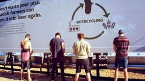 Chuyện lạ ở Đan Mạch: Thu gom nước tiểu để 'phù phép' thành bia