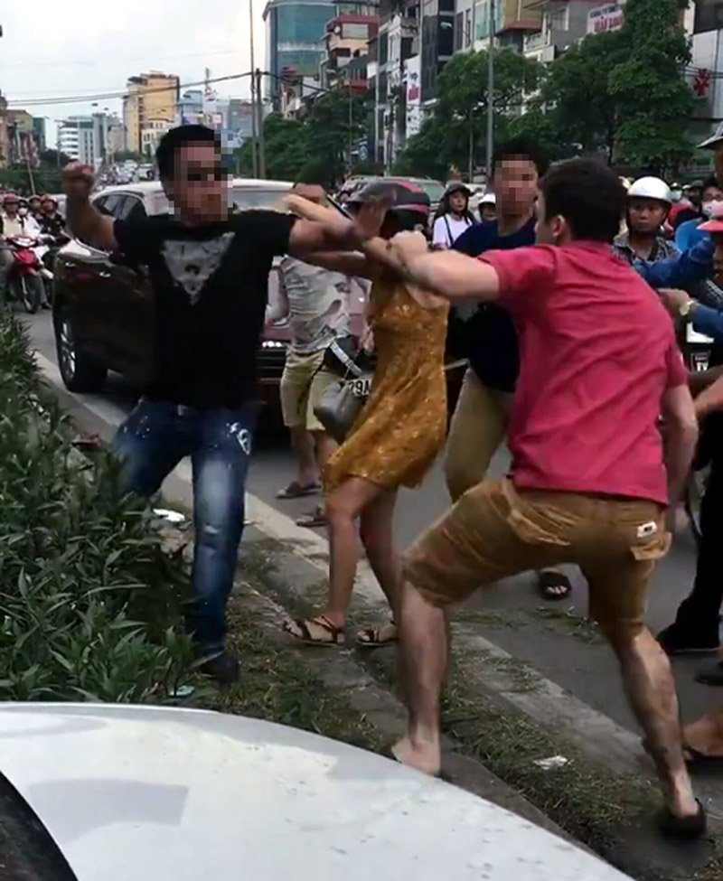 tai nạn giao thông, đánh nhau, Hà Nội