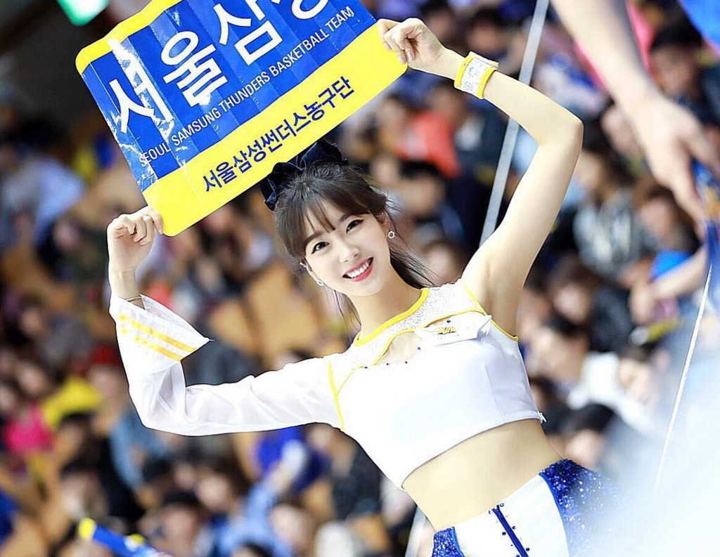 Co gai xinh dep duoc menh danh 'Seolhyun cua gioi cheerleader' hinh anh 1
