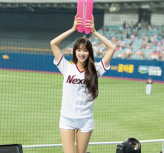 Co gai xinh dep duoc menh danh 'Seolhyun cua gioi cheerleader' hinh anh 8