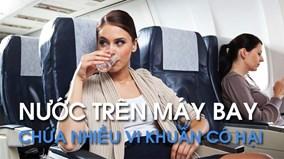 Vì sao tiếp viên hàng không không uống nước được phục vụ trên máy bay?