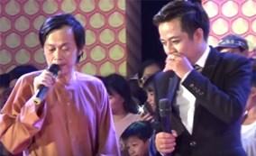 Nghệ sĩ Hoài Linh bị khán giả ném đá trên sân khấu