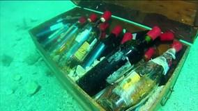 Pháp: Ngâm rượu dưới biển thay vì bảo quản trong hầm