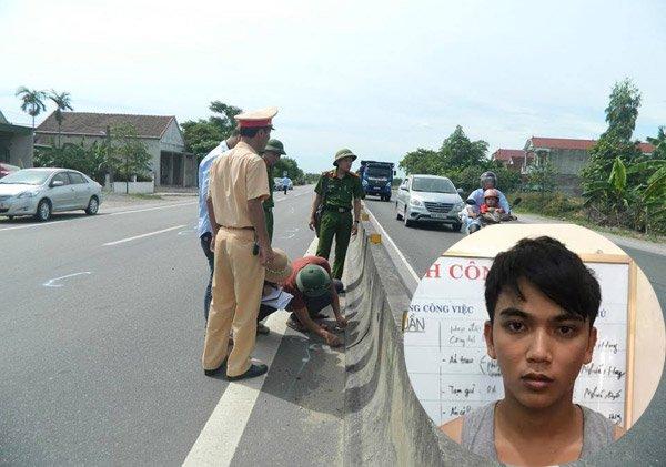 CSGT bị hất văng, CSGT, tai nạn, tai nạn giao thông, cảnh sát giao thông, Hà Tĩnh