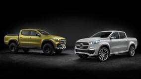 Xe bán tải đầu tiên của Mercedes-Benz ra mắt ngày 18/7