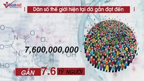Những con số bất ngờ về dân số thế giới ở hiện tại và trong tương lai