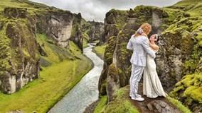 Cặp đôi du lịch tới 100 điểm trên thế giới để làm đám cưới