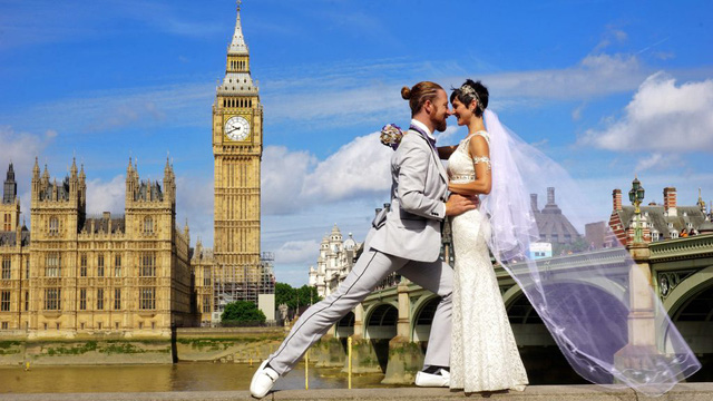 Trao lời hẹn ước ở Tháp đồng hồ Big Ben, London