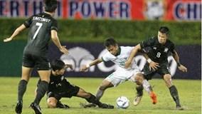 U23 Thái Lan bất lực trước Indonesia, vẫn đoạt vé vào VCK