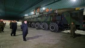 """Kim Jong-un: """"Cả lãnh thổ Mỹ trong tầm bắn tên lửa của Triều Tiên"""""""