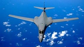 Cận cảnh máy bay ném bom tối tân của Mỹ thị uy trên bán đảo Triều Tiên