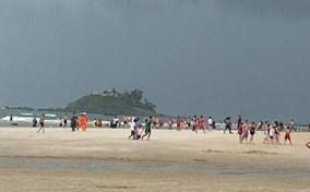 Sét đánh thợ chụp ảnh nguy kịch trên bãi biển Vũng Tàu