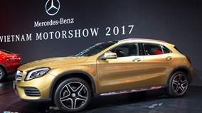 Mercedes trình làng mẫu GLA 2018 hoàn toàn mới