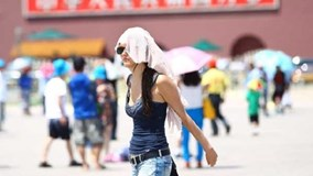 Nắng nóng 40 độ, Trung Quốc tiếp tục ban bố cảnh báo vàng