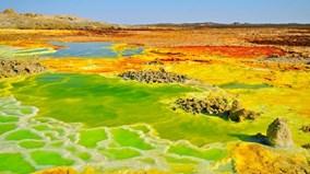 Quang cảnh kỳ ảo ở nơi nóng nhất Trái Đất