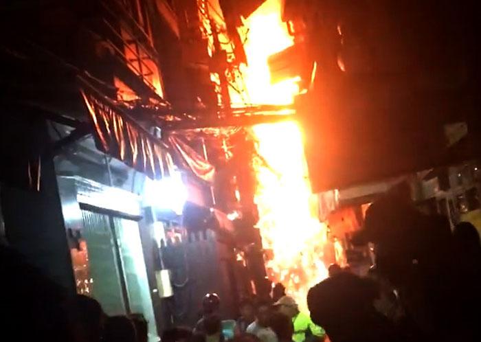 cháy lớn, cháy phố Tây, cháy ở Sài Gòn, cháy lớn ở Sài Gòn