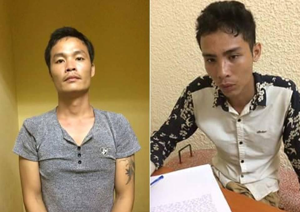 clip: loi khai 2 nghi pham dung dao dam, cuop taxi tao ton o ha noi hinh anh 1