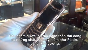 Chiếc điện thoại giá gần 1 tỷ đồng ở Hà Nội có gì đặc biệt?