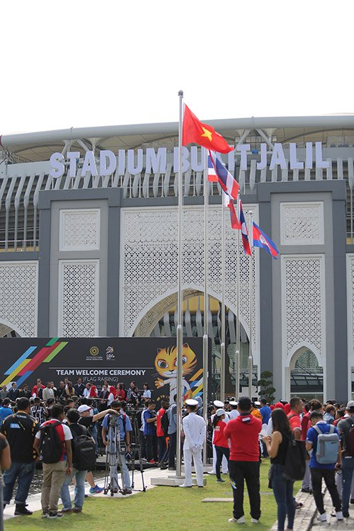 Đoàn thể thao Việt Nam, lễ thượng cờ SEA Games, SEA Games 29