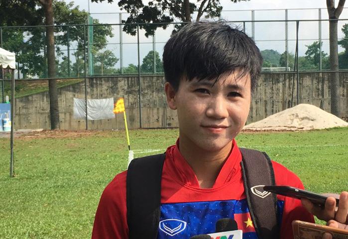 Nữ Việt Nam, HLV Mai Đức Chung, Bóng đá nữ SEA Games 29, Tuyết Dung