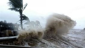 Bão cấp 10 hướng vào biển Đông, miền Bắc có thể mưa lớn