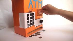 Cách làm máy ATM tại nhà cho trẻ em siêu đơn giản
