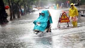 Hoàn lưu bão số 6 gây mưa lớn ở Bắc Bộ