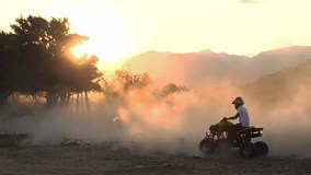 Cháy hết mình ở chảo cát Mũi Dinh, Ninh Thuận