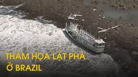 Lật phà chở trăm người ở Brazil gây thương vong lớn