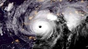 'Siêu bão thập kỷ' đổ bộ vào Mỹ nhìn từ vũ trụ