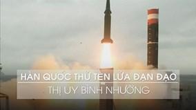Còi báo động vang khắp Hokkaido, Hàn Quốc tung video thử tên lửa đạn đạo